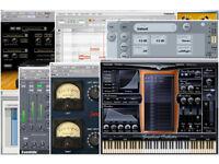 MUSIC/AUDIO PLUG-INS for PC-MAC