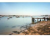 CHEAP FIRST CARAVAN, Steeple Bay, Clacton, Southend, Essex, Hit the Link-->