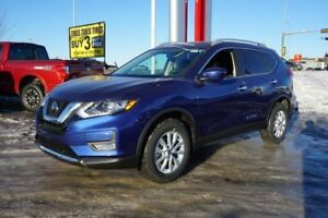 2018 Nissan Rogue AWD SV CVT Remote Start, Heated Seats, Bluetoo