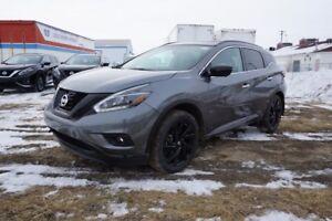 2018 Nissan Murano AWD MIDNIGHT Bluetooth, Leather Seats, Heated