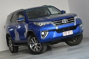 2016 Toyota Fortuner GUN156R Crusade Blue 6 Speed Automatic Wagon Kedron Brisbane North East Preview