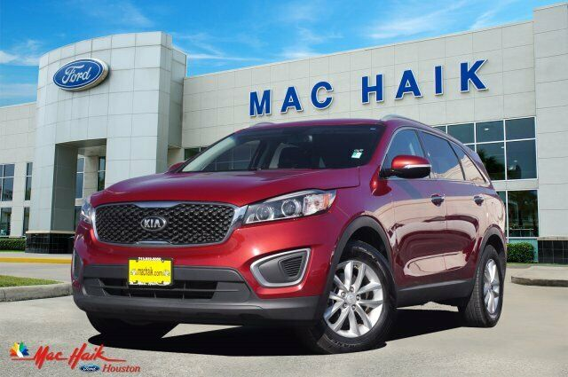 2016 Kia Sorento LX 58812 Miles Remington Red Sport Utility Regular Unleaded I-4