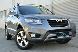 2012 Hyundai Santa Fe CM MY12 Trail Grey 6 Speed Sports Automatic Wagon Ashmore Gold Coast City Preview