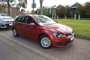 2013 Volkswagen Golf VII 90TSI DSG Red 7 Speed Sports Automatic Dual Clutch Hatchback Stepney Norwood Area Preview