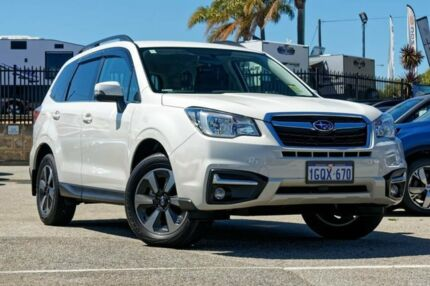 2018 Subaru Forester S4 MY18 2.5i-L CVT AWD White 6 Speed Constant Variable Wagon Greenfields Mandurah Area Preview