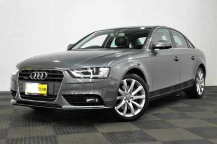 2015 Audi A4 B8 8K MY15 Ambition S tronic quattro Grey 7 Speed Sports Automatic Dual Clutch Sedan Edgewater Joondalup Area Preview