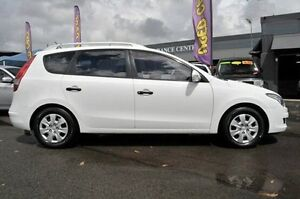2011 Hyundai i30 FD MY11 SX cw Wagon White 4 Speed Automatic Wagon North Gosford Gosford Area Preview