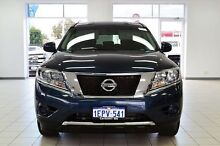 2014 Nissan Pathfinder R52 ST (4x4) Galaxy Blue Continuous Variable Wagon Morley Bayswater Area Preview