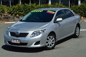 2007 Toyota Corolla Silver Automatic Sedan Highland Park Gold Coast City Preview
