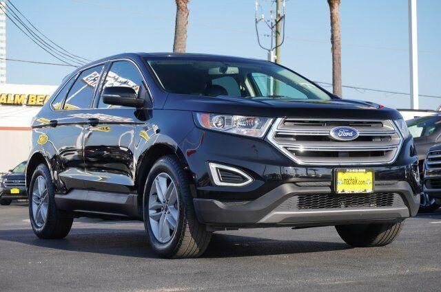 Owner 2017 Ford Edge SEL 31147 Miles Shadow Black Sport Utility Regular Unleaded V-6 3