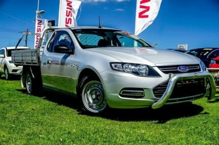 2013 Ford Falcon FG MkII EcoLPi Super Cab Silver 6 Speed Sports Automatic Cab Chassis