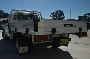 2012 Toyota Hilux TGN16R MY12 Workmate White 5 Speed Manual Cab Chassis Pennant Hills Hornsby Area Preview