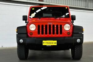 2013 Jeep Wrangler JK MY2014 Sport Red 5 Speed Automatic Softtop