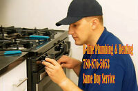Call B-Line Plumbing For Gas Appliance Repairs 780-876-5053