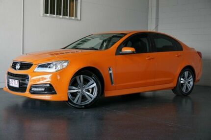 2013 Holden Commodore VF SV6 Orange 6 Speed Manual Sedan Woodridge Logan Area Preview