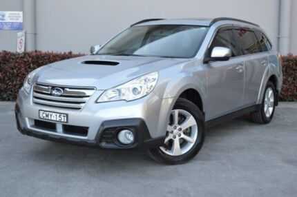 2013 Subaru Outback B5A MY13 2.0D Lineartronic AWD Premium Ice Silver 7 Speed Constant Variable