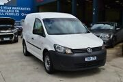 2013 Volkswagen Caddy 2K MY13 Maxi TDI250 White 7 Speed Auto Direct Shift Van Tottenham Maribyrnong Area Preview