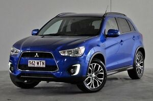 2016 Mitsubishi ASX XB MY15.5 LS 2WD Blue 6 Speed Constant Variable Wagon Robina Gold Coast South Preview