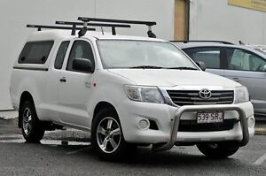 2012 Toyota Hilux GGN15R MY12 SR Xtra Cab White 5 Speed Automatic Utility Tweed Heads South Tweed Heads Area Preview