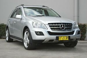 2010 Mercedes-Benz ML W164 09 Upgrade 300 CDI Sports (4x4) Silver 7 Speed Automatic G-Tronic Wagon South Maitland Maitland Area Preview
