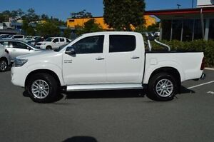 2014 Toyota Hilux White Manual Utility Highland Park Gold Coast City Preview