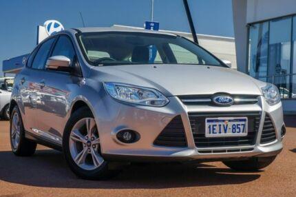 2013 Ford Focus LW MKII Trend Ingot Silver 5 Speed Manual Hatchback