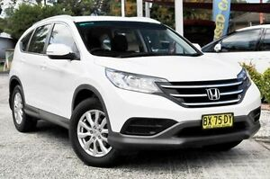 2013 Honda CR-V 30 VTi (4x4) White 5 Speed Automatic Wagon Gosford Gosford Area Preview