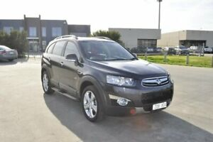 2012 Holden Captiva CG Series II 7 LX (4x4) Grey 6 Speed Automatic Wagon Hoppers Crossing Wyndham Area Preview
