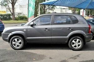 2008 Hyundai Tucson MY09 City SX Grey 5 Speed Manual Wagon North Gosford Gosford Area Preview