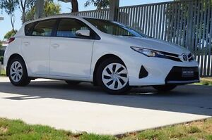 2014 Toyota Corolla ZRE182R Ascent S-CVT Glacier White 7 Speed Constant Variable Hatchback Dalby Dalby Area Preview