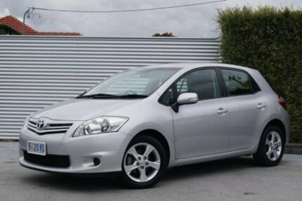 2010 Toyota Corolla ZRE152R MY10 Conquest Silver Pearl 4 Speed Automatic Hatchback South Launceston Launceston Area Preview