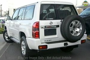 2010 Nissan Patrol GU 7 MY10 ST White 4 Speed Automatic Wagon Wilson Canning Area Preview
