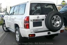 2010 Nissan Patrol GU 7 MY10 ST White 4 Speed Automatic Wagon Mindarie Wanneroo Area Preview