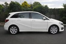 2015 Mercedes-Benz B180  White Sports Automatic Dual Clutch Hatchback Doncaster Manningham Area Preview