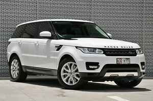 2013 Land Rover Range Rover Sport L494 MY14 SDV6 CommandShift SE Fuji White 8 Speed Sports Automatic Springwood Logan Area Preview