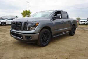 2018 Nissan Titan 4X4 MIDNIGHT CREW CA INCLUDES S PKG PLUS, WHEE