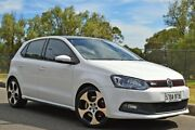 2013 Volkswagen Polo 6R MY13.5 GTI DSG White 7 Speed Sports Automatic Dual Clutch Hatchback Thorngate Prospect Area Preview