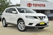 2014 Nissan X-Trail T32 TS (FWD) White Continuous Variable Wagon Watanobbi Wyong Area Preview