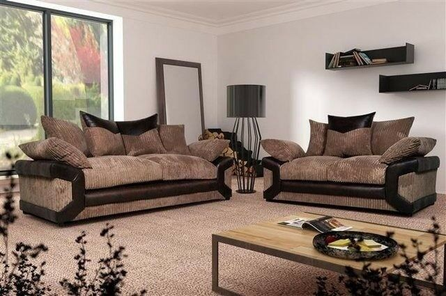 BEST SELLING BRAND - NEW Dino Premium Fabric Corner Sofa Suite - SAME/NEXT DAY DELIVERY!