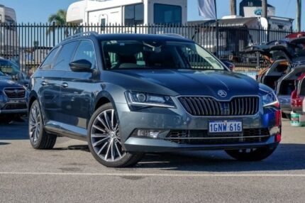 2018 Skoda Superb NP MY18.5 206TSI DSG Grey 6 Speed Sports Automatic Dual Clutch Wagon Greenfields Mandurah Area Preview
