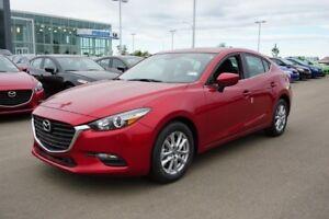 2018 Mazda Mazda3 GX-SKYACTIV HEATED LEATHERETTE, 7' TOUCHSCREEN