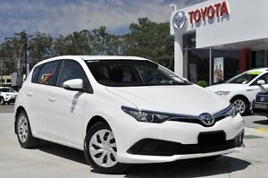 2015 Toyota Corolla ZRE182R Ascent White 7 Speed CVT Auto Sequential Hatchback Wyoming Gosford Area Preview