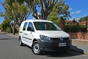 2012 Volkswagen Caddy 2KN MY12 TDI250 SWB DSG White 7 Speed Sports Automatic Dual Clutch Van Thorngate Prospect Area Preview
