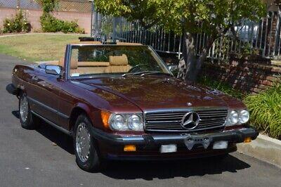 mercedes-benz sl 1988 r107 560 sl
