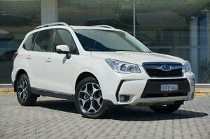 2013 Subaru Forester White Constant Variable Wagon St James Victoria Park Area Preview