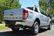 2017 Ford Ranger PX MkII XLT Double Cab Silver 6 Speed Manual Utility Medindie Walkerville Area Preview