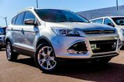 2015 Ford Kuga TF MY15 Trend PwrShift AWD Silver 6 Speed Sports Automatic Dual Clutch Wagon Balcatta Stirling Area Preview