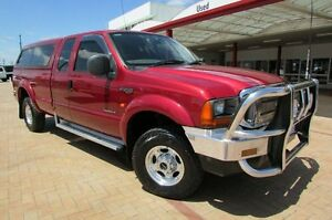 2004 Ford F250 RN XLT (4x4) Red 4 Speed Automatic Super Cab Pick-up Bunbury Bunbury Area Preview