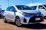 2016 Toyota Yaris NCP130R Ascent Silver 4 Speed Automatic Hatchback Balcatta Stirling Area Preview