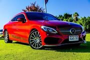 2016 Mercedes-Benz C200 C205 7G-Tronic + Red 7 Speed Sports Automatic Coupe Wangara Wanneroo Area Preview